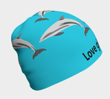 Love Gives Life Porpoise Beanie - Fun With Chemo