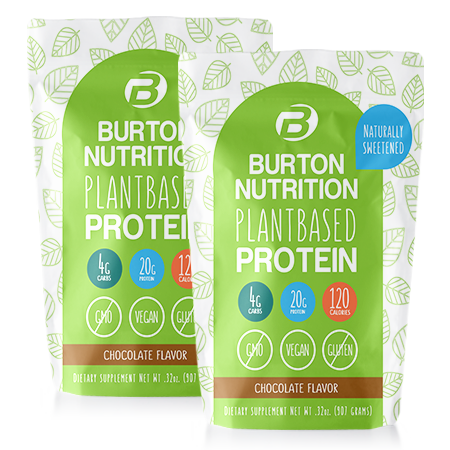 Burton Nutrition Plant Based Protein 2 Chocolate