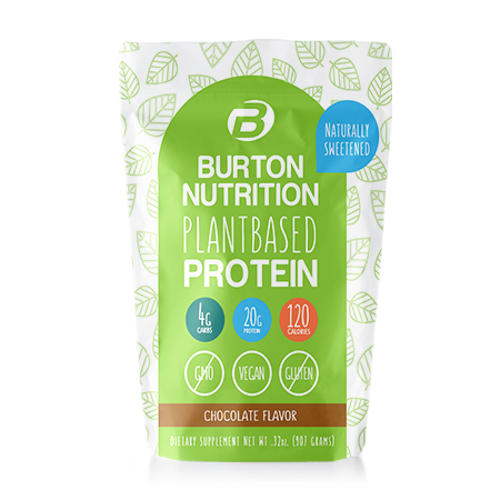 Burton Nutrition Plant Based Protein Chocolate***SHIPS IN 4 WEEKS***
