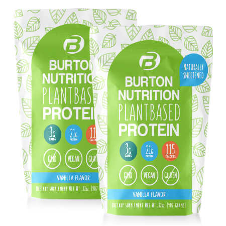 Burton Nutrition Plant Based Protein 2 Vanilla ***SHIPS IN 4 WEEKS***