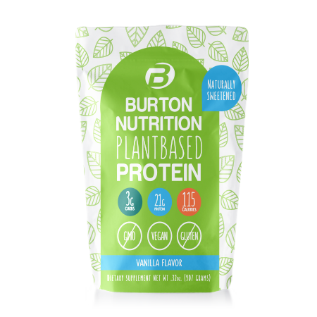 Burton Nutrition Plant Based Protein Vanilla ***SHIPS IN 4 WEEKS***