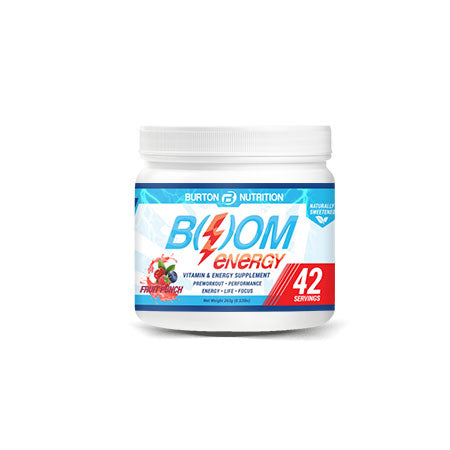 BOOM ENERGY! - FRUIT PUNCH FLAVOR