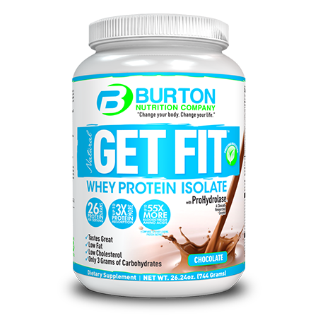 Burton Nutrition Get Fit PURE WHEY Chocolate