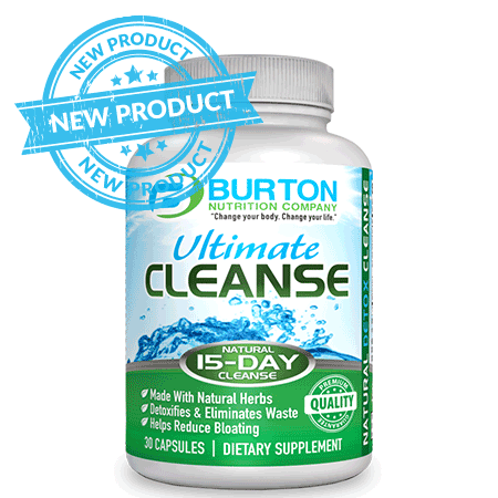 Burton Nutrition The Ultimate Cleanse SHIPS IN 3 WEEKS