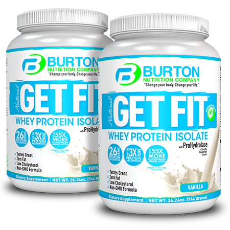 Burton Nutrition Get Fit PURE WHEY <br/> 2  Vanilla