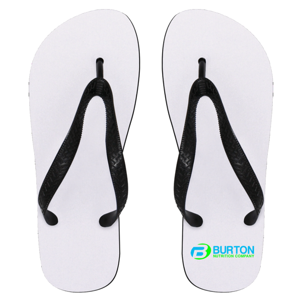 Burton Nutrition Flip Flops - Small