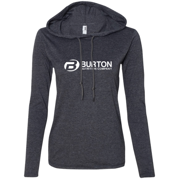 Burton Nutrition Ladies' Long Sleeve T-Shirt Hoodie