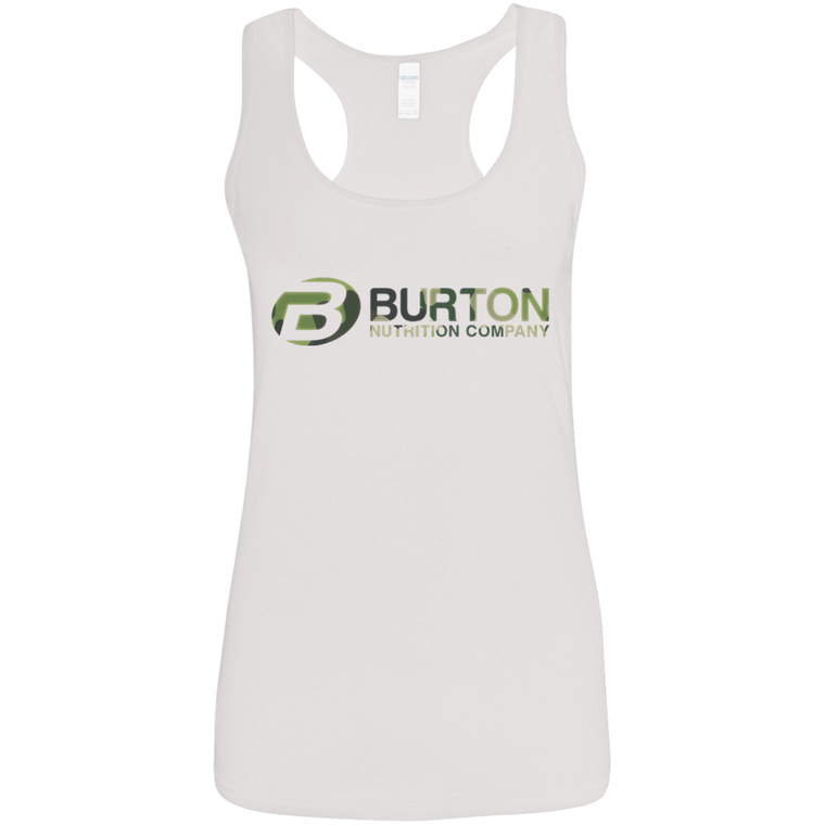 Burton Nutrition Ladies' Softstyle Racerback Tank - CAMO