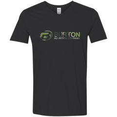 Burton Nutrition Men's Softstyle  V-Neck T-Shirt - CAMO