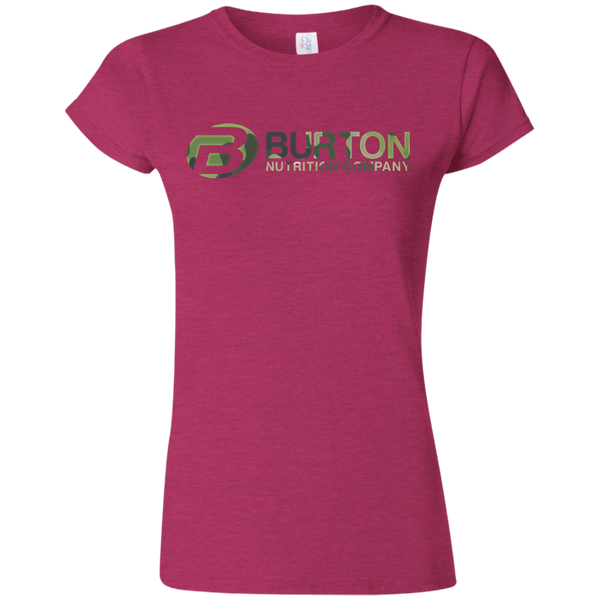 Burton Nutrition Softstyle Ladies' T-Shirt - CAMO