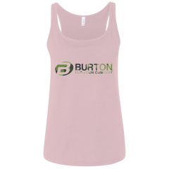 Burton Nutrition Ladies' Relaxed Jersey Tank CAMO
