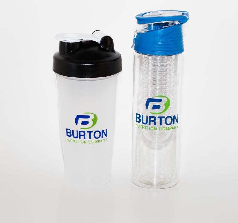 BURTON NUTRITION 24oz.WATER INFUSER AND SHAKER COMBO