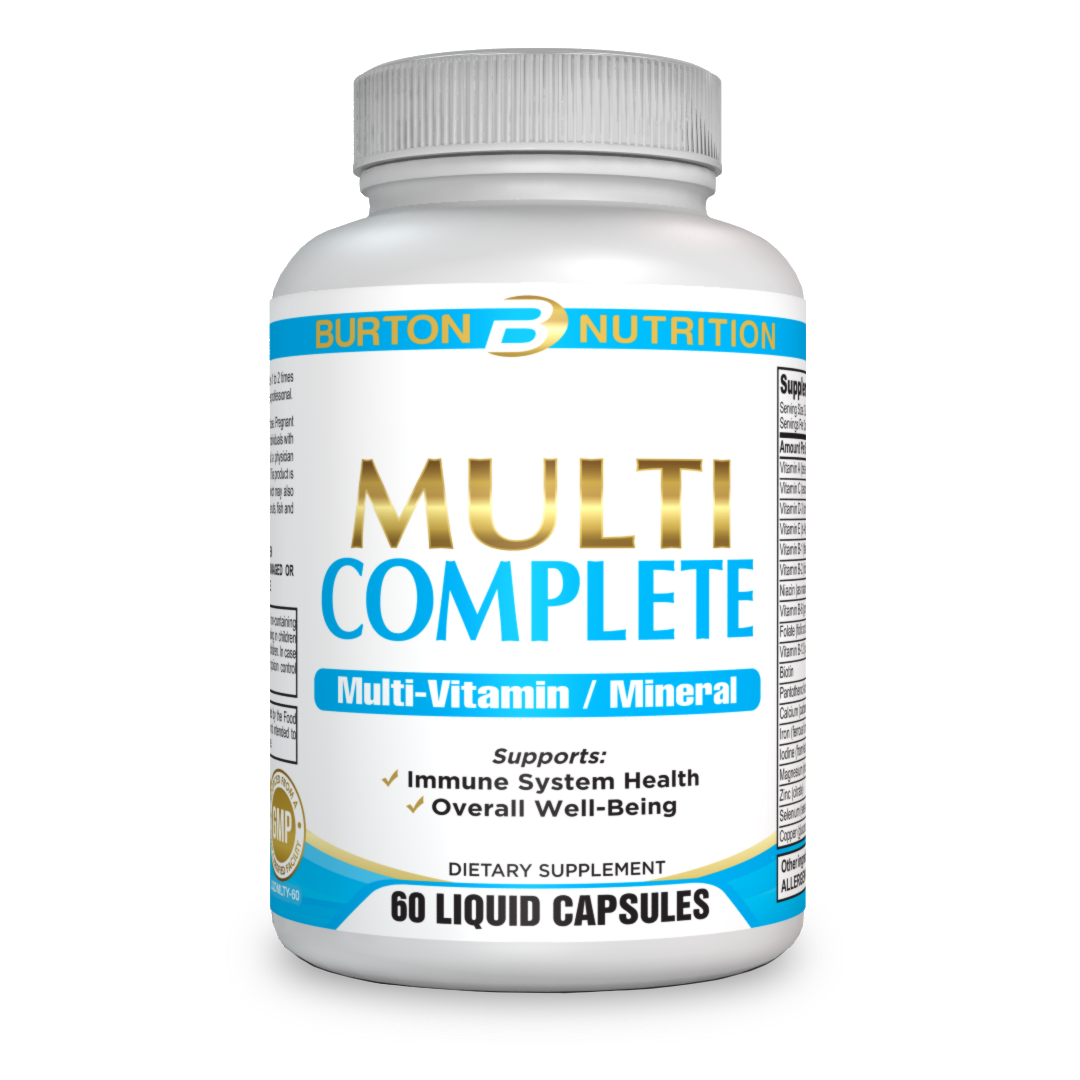 Multi Complete Liquid Capsules with over 40 Non Gmo fruit and veggies