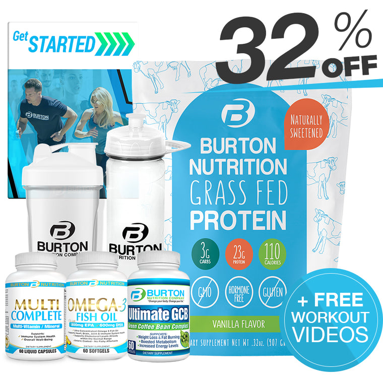 BURTON NUTRITION MEN'S FIT KIT 1