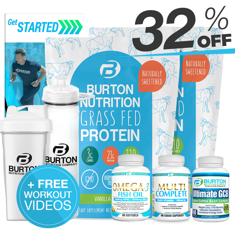 BURTON NUTRITION MEN'S FIT KIT 2