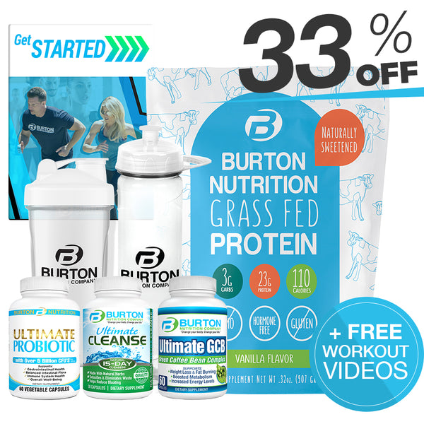 BURTON NUTRITION SLIM & BURN KIT