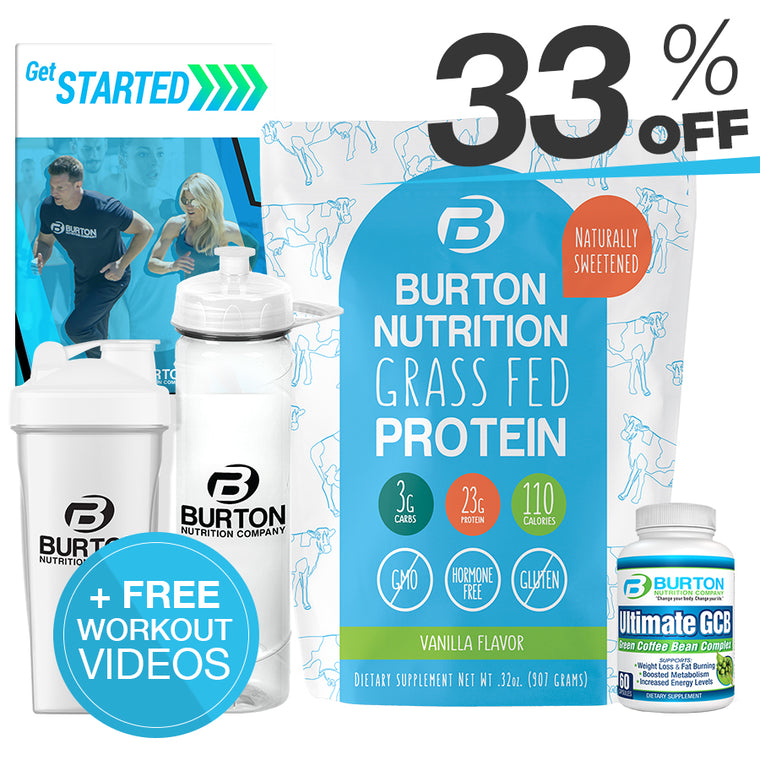 BURTON NUTRITION STARTER KIT!