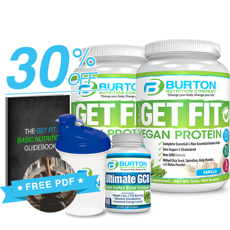 Burton Nutrition Get Fit Starter Kit -2- 30% OFF!
