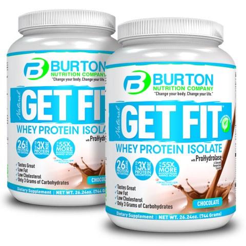 Burton Nutrition Get Fit PURE WHEY <br/> 2 Chocolate - Ships next week!