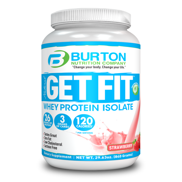 Burton Nutrition Get Fit PURE WHEY - Strawberry