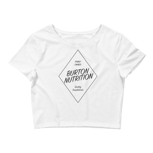 Burton Nutrition DIAMOND Women's Crop Tee