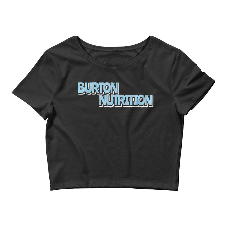 Burton Nutrition BOLD STATEMENT Women's Crop Tee