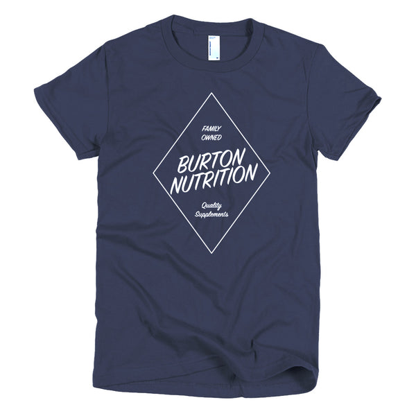 Burton Nutrition DIAMOND Short Sleeve Women's T-Shirt
