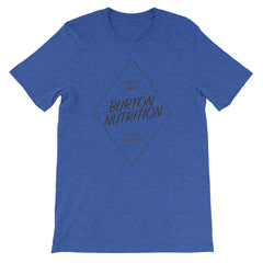 Burton Nutrition DIAMOND Short-Sleeve Unisex T-Shirt