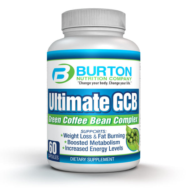 Burton Nutrition Green Coffee Bean 60 Capsules-30 Day Supply