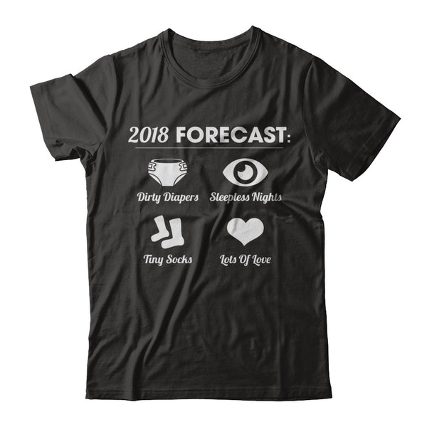 Brand new 2018 Forecast Men Funny New Dad Father Family T-shirt Men - Great  BF81