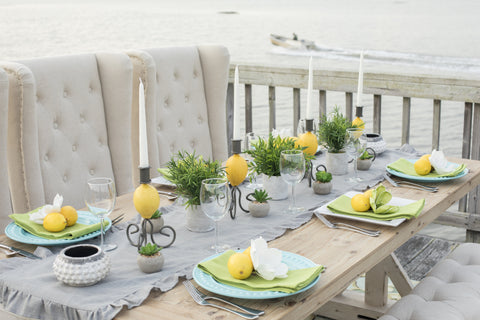 Dinner party on the dock