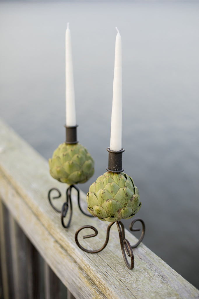 The Must Have Candlestick For The Modern Hostess-- Set of 2