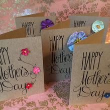 5 Pack Happy Mother's Day with flower applique