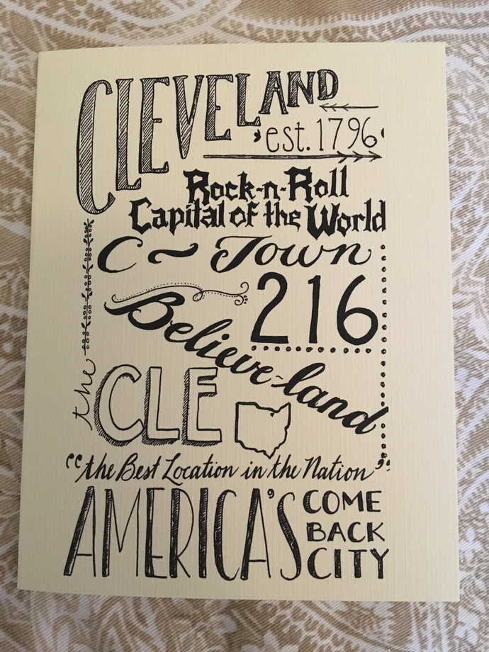 Believe-Land CLE Card