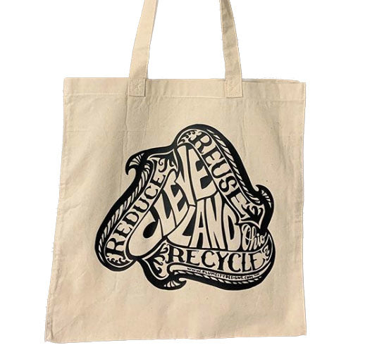 Cleveland Reusable Canvas Shopper