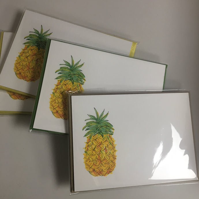 Petite Pineapple Notecards