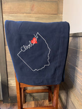Cleveland Love Sweatshirt Blanket