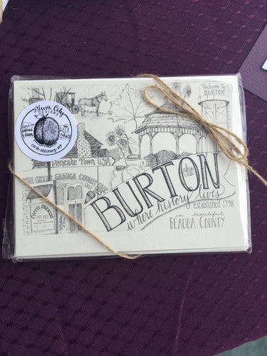 Burton Notecards
