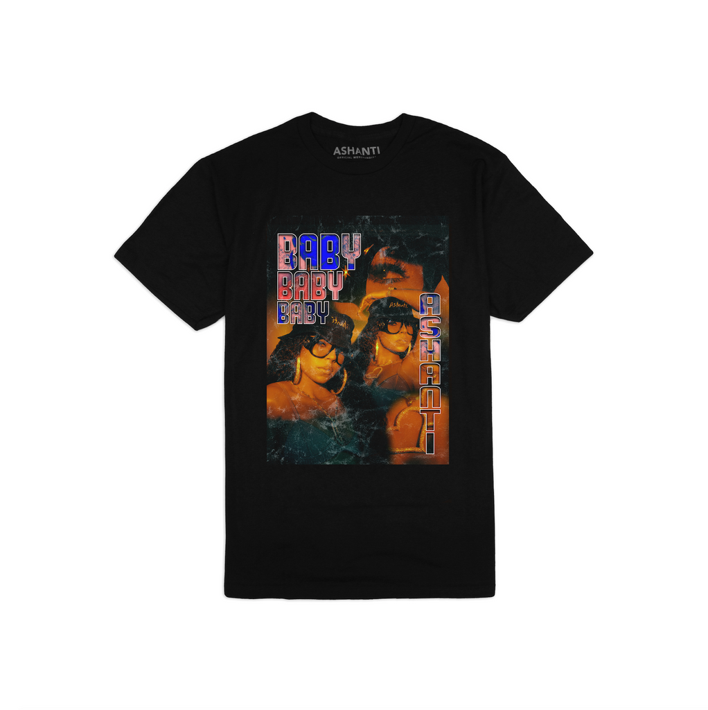 Ashanti - NEW Exclusive Baby Tee *pre-order