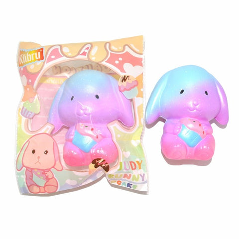 Kiibru Judy Galaxy Rabbit Squishy Scented Super Slow Rising Bunny