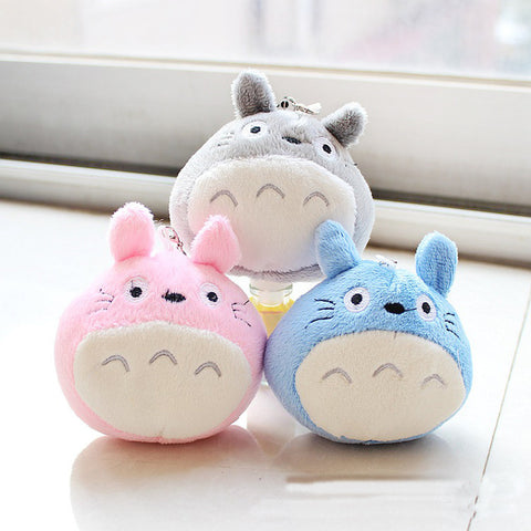 Totoro Character Plush Soft Stuffed Toy Charm
