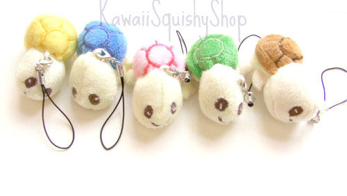 Kawaii Turtle Plush with Cell phone strap
