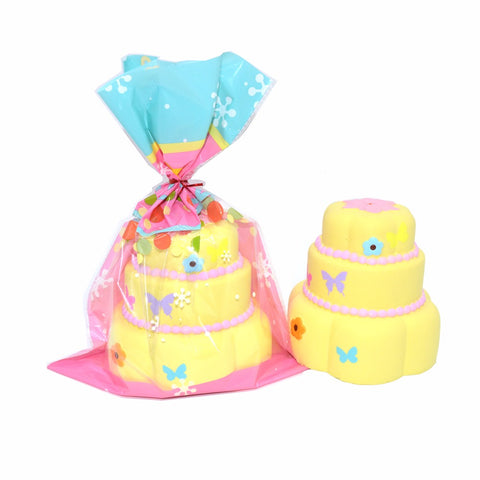 Jumbo Butterfly Cake 3 Layer Squishy Charm Kiibru Licensed