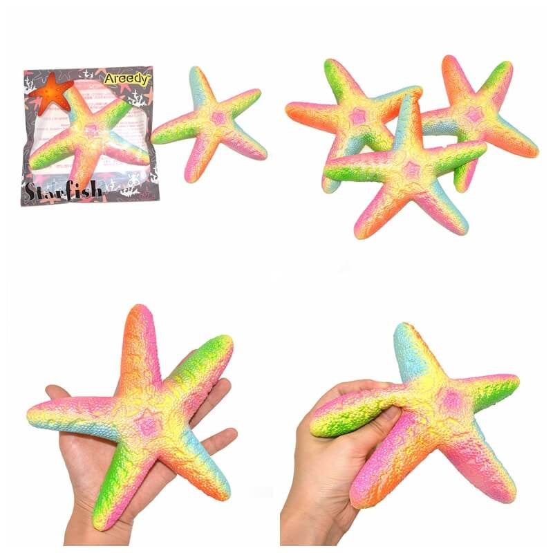 Jumbo Realistic Starfish Squishy Scented and Slow Rising