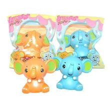 Jumbo Cartoon Elephant Squishy Charm