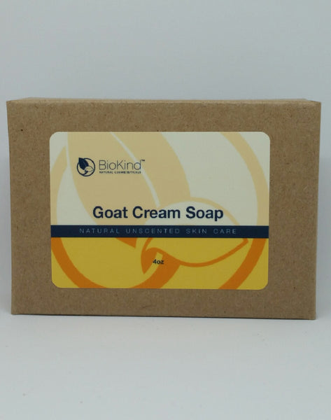 Goat Cream Soap Unscented 4 oz BioKind™