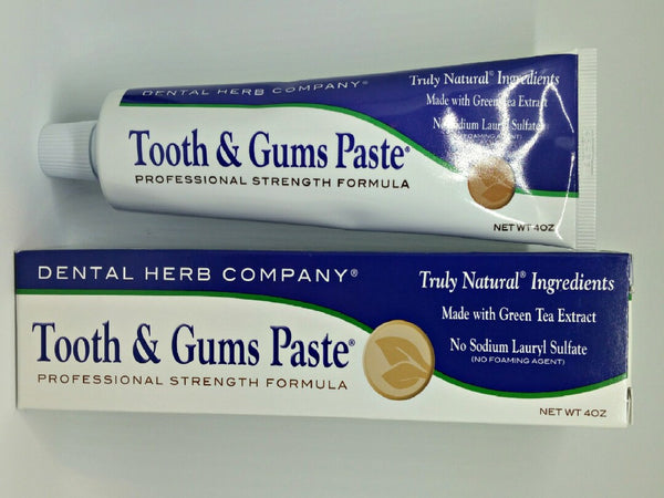 Tooth & Gums Paste® Dental Herb Company®
