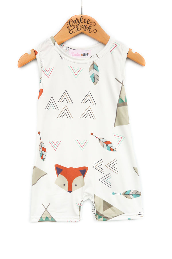 Boys' Fox Romper