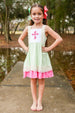 Mint & Pink Cross Dress