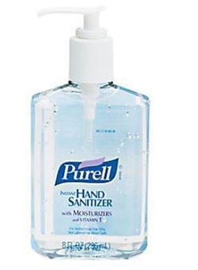 Purell Instant Hand Sanitizer, 8 oz. Pump